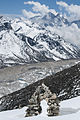 The Changri moraine taken from Kalapathar.jpg