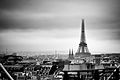 The Eiffel Tower from Centre Georges-Pompidou, Paris 2011.jpg