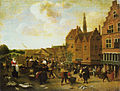 The Fish Market in Leiden by Jan Steen Städel Museum.jpg