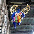 The Guardian Angel, Niki de Saint Phalle (1997) , Zurich Main train station. Ангел-хранитель, вокзал в Цюрихе - panoramio.jpg