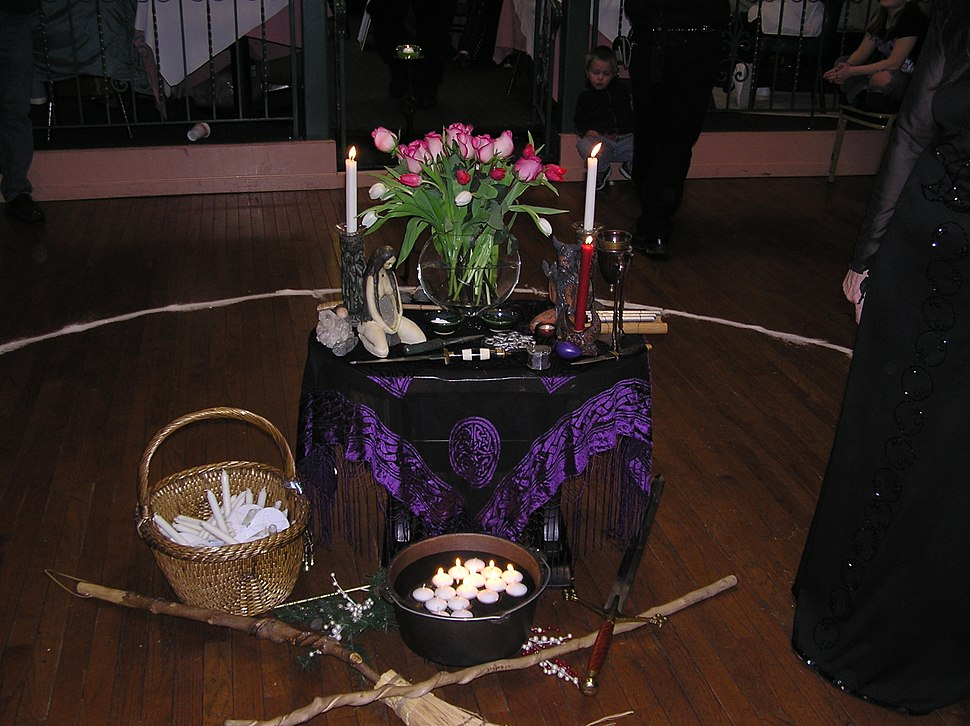 The Imbolc Ritual Altar.jpg
