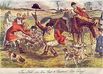 Shipton Moyne - The Kill on The Cat and Custard Pot Day