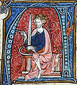 The King Conrad I enthroned.jpg