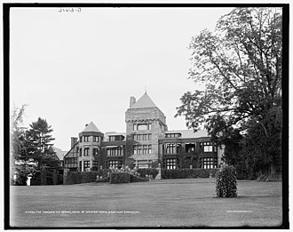Yaddo - Image: The Mansion at Yaddo (ca. 1905)