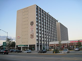 Harwood Heights, Illinois - The Mont Clare at Harlem Avenue, formerly known as Parkway Towers