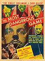 The Most Dangerous Game (1932) poster card.jpg