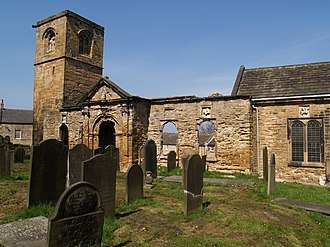 Wentworth, South Yorkshire - Image: The Old Church, Wentworth geograph.org.uk 1820988