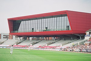 Old Trafford Cricket Ground - The Point, almost completed, June 2010