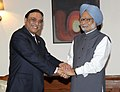 The President of Pakistan, Mr. Asif Ali Zardari meeting the Prime Minister, Dr. Manmohan Singh, in New Delhi on April 08, 2012 (1).jpg