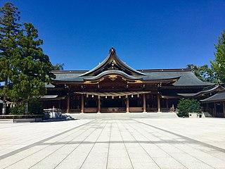 Shinto shrine in Kanagawa Prefecture, Japan
