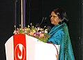 The Secretary, Ministry of Information & Broadcasting, Ms. Sushma Singh addressing at the inauguration of the 39th International Film Festival (IFFI-2008) at Kala Academy, in Panaji, Goa on November 22, 2008.jpg