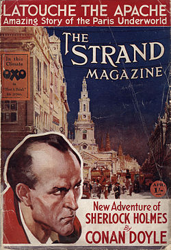 The Strand Magazine (cover), vol. 73, April 1927.jpg
