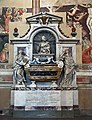 The Tomb of Galileo Galilei in the Basilica Santa Croce, Florence. Italy.jpg