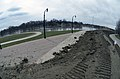 The U.S. Army Corps of Engineers (USACE) completed a temporary emergency levee near the city hall along 2nd Street in Fargo, ND, Apr. 29, 2013.jpg