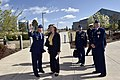 The USA's Secretary of the Air Force visits Cheyenne Mountain, 2015-05-27, 150415-VT441-015 (17584318343).jpg