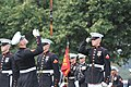 The United States Marine Corps Silent Drill Platoon performs during the Sunset Parade at the Marine Corps War Memorial in Arlington, Va. 090811-M-HK712-237.jpg