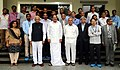 The Vice President, Shri M. Venkaiah Naidu with the Scientists of the Centre for Nano Science Engineering, at the Indian Institute of Science, in Bengaluru, Karnataka.jpg