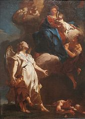 The Virgin Appearing to the Guardian Angel