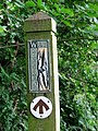 The Wherryman's Way - footpath marker - geograph.org.uk - 1340030.jpg