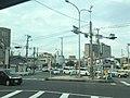 "The signboard ""RIGHT ONLY"" at Nakamurabashi intersection, Minami-ku, Yokohama city, Kanagawa prefecture, Japan.jpg"