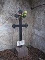 The symbolic tomb of the hermit, 2020 Zebegény.jpg