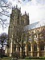 The twin towers of Beverley Minster - geograph.org.uk - 1774840.jpg