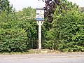 The village signpost at Cratfield - geograph.org.uk - 919063.jpg