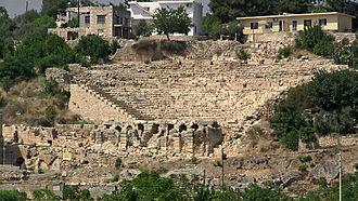 Elaiussa Sebaste - Theatre in Elaiussa Sebaste
