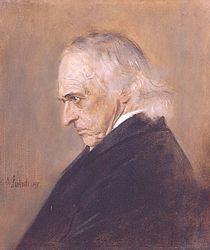 Franz von Lenbach: Theodor Mommsen