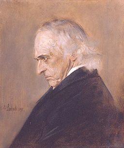 Theodor Mommsen by Franz von Lenbach