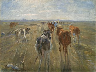 Theodor Philipsen - Image: Theodor Philipsen Long Shadows. Cattle on the Island of Saltholm Google Art Project