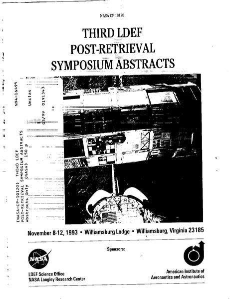 File:Third LDEF Post-Retrieval Symposium (Abstract).pdf