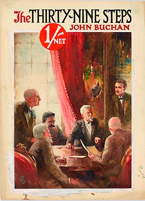 Literature in modern Scotland - The first edition of John Buchan's The Thirty-Nine Steps (1915), which played a major role in the creation of the modern thriller