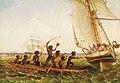 Thomas Baines c.1855 Aboriginal Canoes.jpg