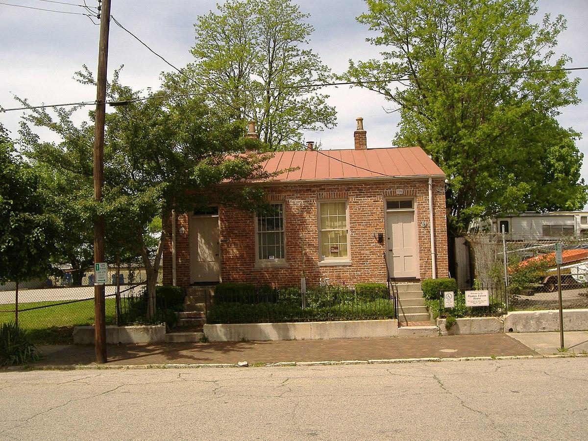 Thomas Edison House - Wikipedia