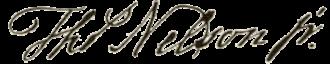Thomas Nelson Jr. - Image: Thomas Nelson signature