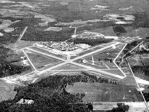 Thomasville Regional Airport - 1943 airphoto