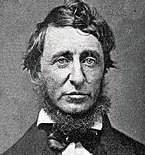 Henry David Thoreau, along with Ralph Waldo Emerson, edited The Dial, a magazine which published the first English translation of a portion of the Lotus Sutra into English from French.