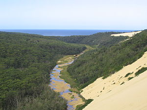 East Gippsland - Thurra River in Croajingolong National Park