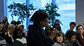 Tilskuere pa de nordiske likestillingsministrenes seminar under FNs kvinnekommisjons sesjon (CSW55) i New York onsdag 23. februar 2011.jpg