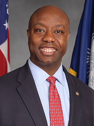 2016 United States Senate election in South Carolina - Image: Tim Scott, official portrait, 113th Congress (cropped)
