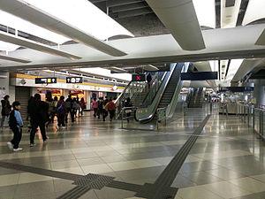 Tin Shui Wai Station - Tin Shui Wai Station concourse