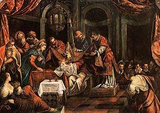 Scuola Grande di San Rocco - The Circumcision of Jesus from the Tintoretto cycle