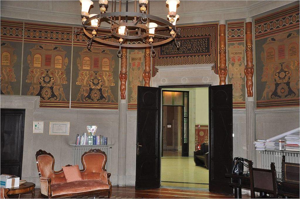 File tito chini particolare della decorazione della - Decorazioni stanza ...