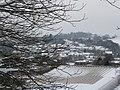 Tiverton , Snowy Rooftops - geograph.org.uk - 1659091.jpg