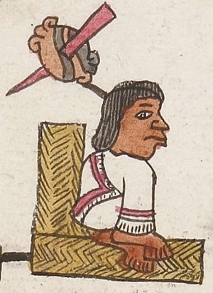 Tizoc - Tizoc in the Codex Telleriano-Remensis