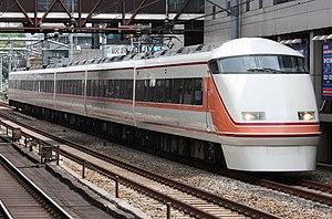 Kinugawa (train) - Image: Tobu 100 Spacia Kinugawa