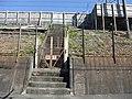 Tokaido Shinkansen maintenance workers stair - Miyashita.jpg