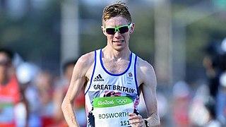 Tom Bosworth British race walker