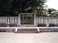 Tomb of Emperor Goichijo.jpg